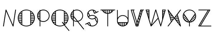 GeoMath  Regular Font UPPERCASE