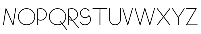 GeoMath  Smooth Font UPPERCASE