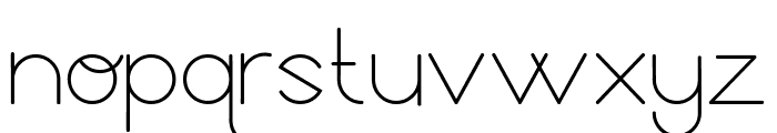 GeoMath  Smooth Font LOWERCASE