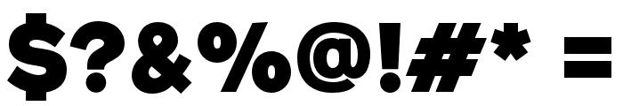 GeometosNeueBlack Font OTHER CHARS