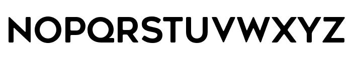 GeometosRounded Font UPPERCASE