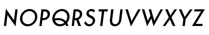 George-Italic Font UPPERCASE