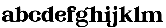 George Qiofincy Font LOWERCASE