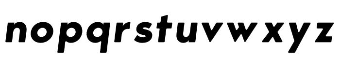 George Round Bold Italic Font LOWERCASE