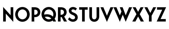 George-SemiBold Font UPPERCASE