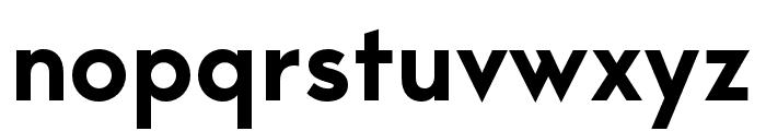 George-SemiBold Font LOWERCASE