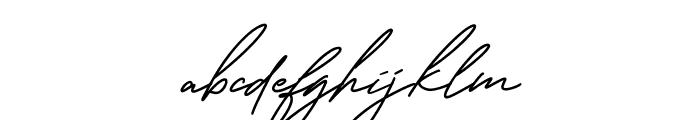 George Signature Regular Font LOWERCASE
