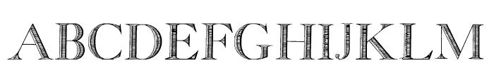GeorgiaCapitals Font UPPERCASE