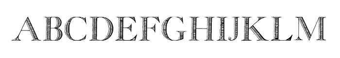 GeorgiaCapitals Font LOWERCASE