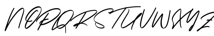 Georgiess Signature Font UPPERCASE