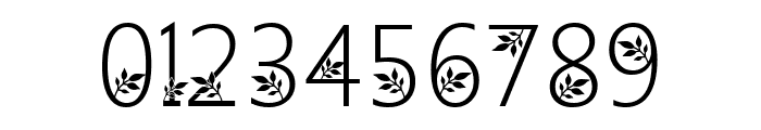 Geranium Font OTHER CHARS