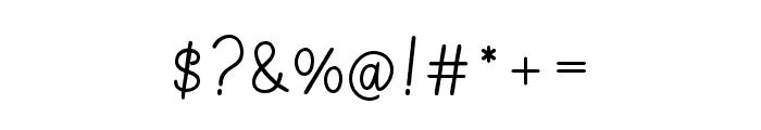 Germaint-Regular Font OTHER CHARS