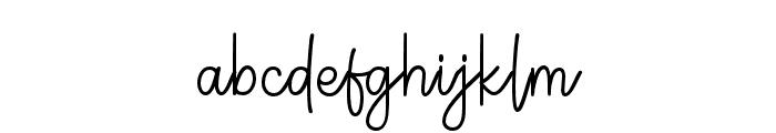 Germaint-Regular Font LOWERCASE