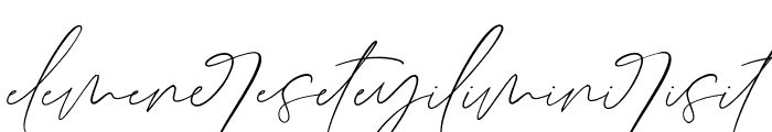 GermanyScriptLigatures Font LOWERCASE