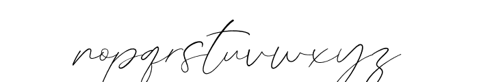 GermanyScript Font LOWERCASE