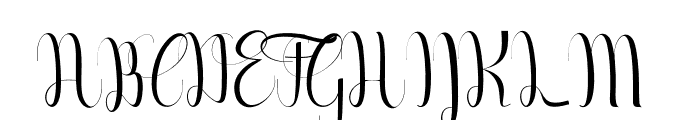Geulayang Font UPPERCASE