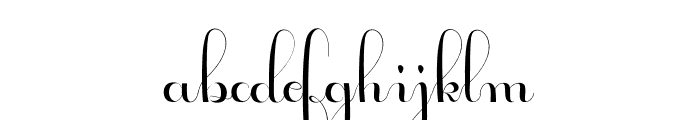 Geulayang Font LOWERCASE