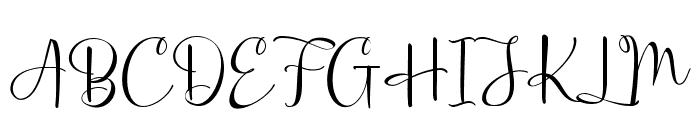Ghania Roses Font UPPERCASE