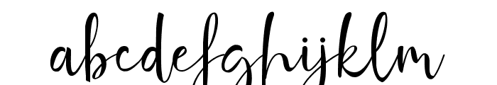 Ghania Roses Font LOWERCASE