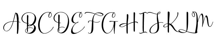 GhaniaRoses Font UPPERCASE