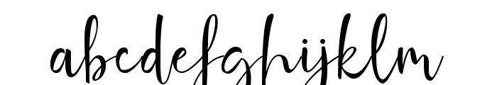 GhaniaRoses Font LOWERCASE
