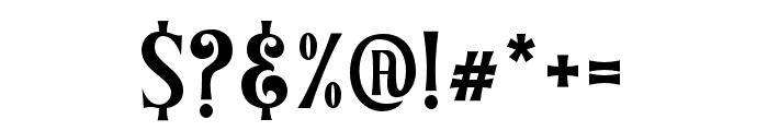 Ghostoons-Regular Font OTHER CHARS