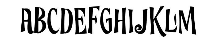 Ghostoons-Regular Font UPPERCASE