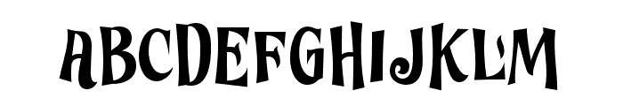 Ghostoons-Regular Font LOWERCASE