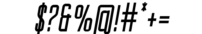 Gihan Italic Font OTHER CHARS