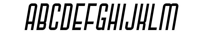 Gihan Italic Font UPPERCASE