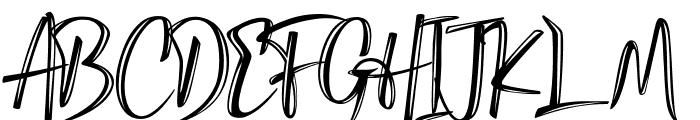 Gippsland Font UPPERCASE