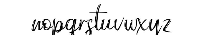 Gippsland Font LOWERCASE
