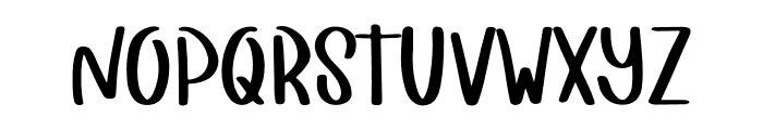 Girly Stuff Font UPPERCASE