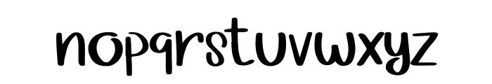 Girly Stuff Font LOWERCASE