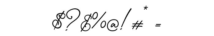 Gisellia Regular Font OTHER CHARS