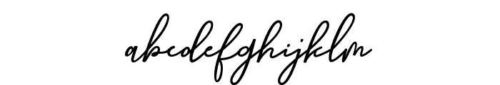 GithaLovely Font LOWERCASE