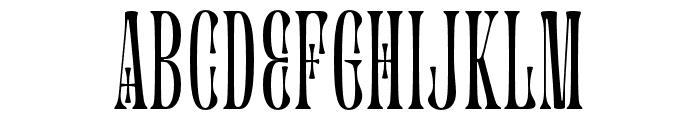 Glassure Font UPPERCASE