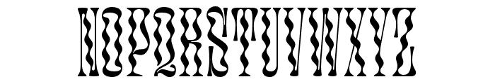 Glassure Font LOWERCASE