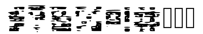 Glitch Block Glitch Font OTHER CHARS