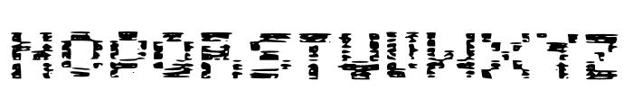 Glitch Block Glitch Font LOWERCASE