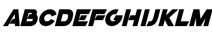 GoGo Poster 2020 Italic Font UPPERCASE