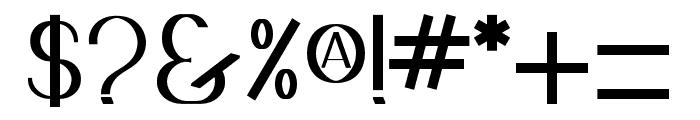 Goddess_Valkyrian Font OTHER CHARS