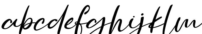 Golden Ballpoint Italic Font LOWERCASE