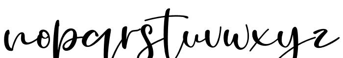 Golden Ballpoint Font LOWERCASE