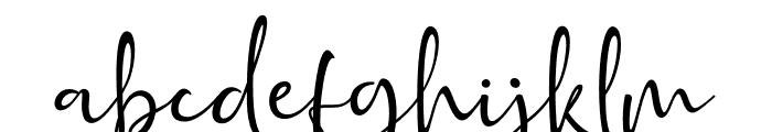 Golden Class Script Golden Class Font LOWERCASE