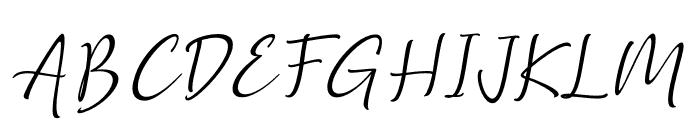 Golden Class Script Slant Golden Class Font UPPERCASE