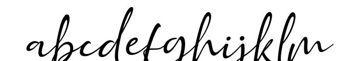 Golden Class Script Slant Golden Class Font LOWERCASE