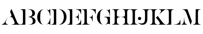 Golden Class Serif Golden Class Font UPPERCASE