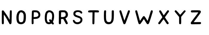 Golden Dream Sans Serif Font UPPERCASE