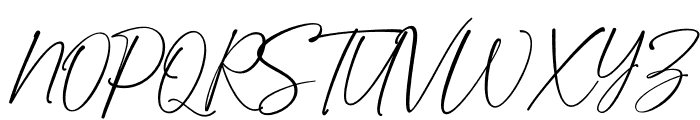 Golden Dream Font UPPERCASE